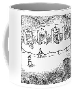 Freak Show Of Average Beach-goers Coffee Mug