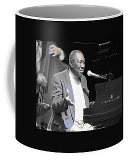 Coffee Mug featuring the photograph Freddy Cole At Chastain by Cleaster Cotton