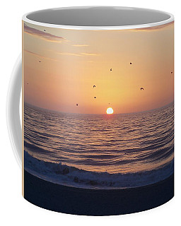 Coffee Mug featuring the photograph Free As A Bird by Victor Montgomery