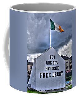 Free Derry Wall Coffee Mug