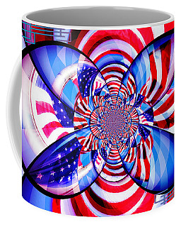 Freedom Abstract  Coffee Mug