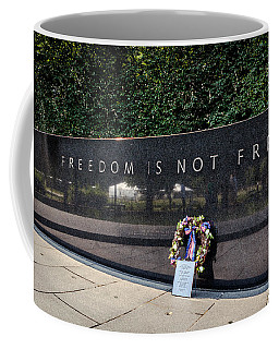 Freedom Is Not Free Coffee Mug by Sennie Pierson