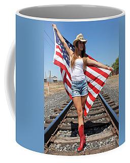 Freedom Reigns Coffee Mug by Pamela Walrath