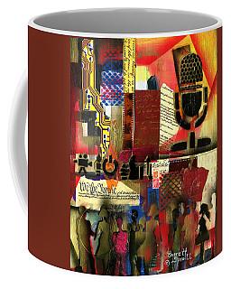 Freedom Of Speech 1 Coffee Mug by Everett Spruill