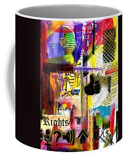 Freedom Of Speech 2 Coffee Mug by Everett Spruill