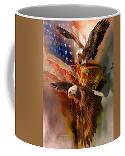 Freedom Ridge Coffee Mug by Carol Cavalaris