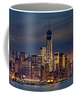 Freedom Tower Construction End Of 2013 Coffee Mug