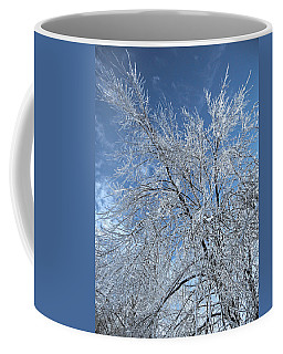 Coffee Mug featuring the photograph Freezing Rain ... by Juergen Weiss
