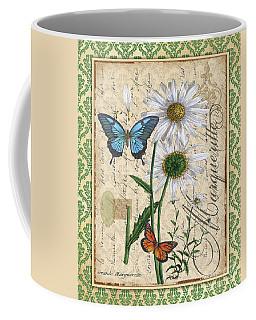 French Botanical Damask-d Coffee Mug