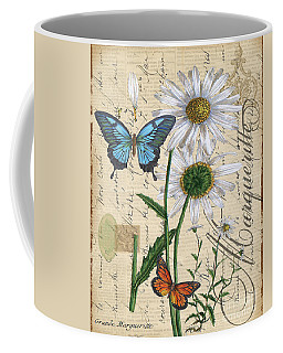 French Botanical-marqueritte Coffee Mug