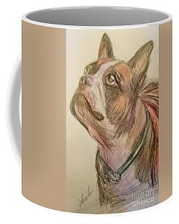 French Bull Dog Drawings Coffee Mugs
