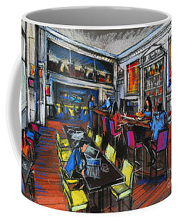 French Cafe Interior Coffee Mug