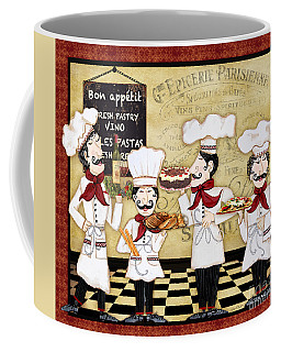 French Chefs-bon Appetit Coffee Mug by Jean Plout