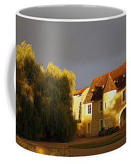 French House At Sunset Coffee Mug