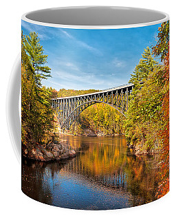French King Bridge In Autumn Coffee Mug