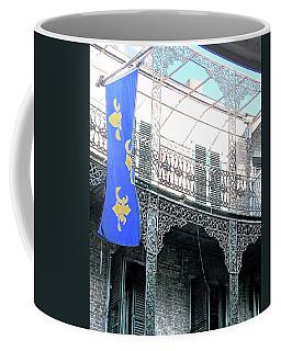 Coffee Mug featuring the photograph French Quarter Nola by Lizi Beard-Ward