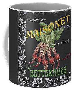French Veggie Labels 2 Coffee Mug