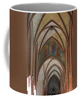 Fresco Painting Over Archway At Malbork Coffee Mug