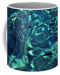 Fresh Clean Santorini Ocean  Water Coffee Mug