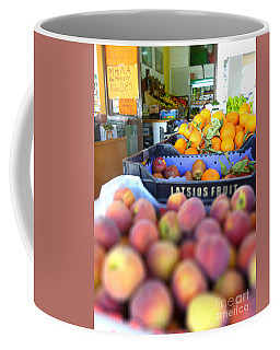 Coffee Mug featuring the photograph Fresh Fruit by Vicki Spindler