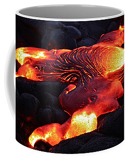 Fresh Lava Flow Coffee Mug by Venetia Featherstone-Witty