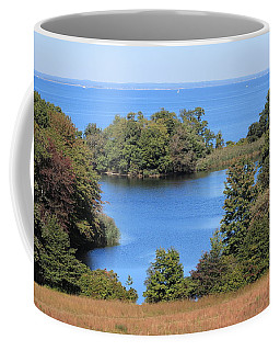 Fresh Pond At Caumsett Coffee Mug