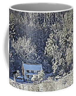 Fresh Snow Coffee Mug
