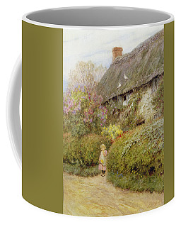 Freshwater Cottage Wc On Paper Coffee Mug