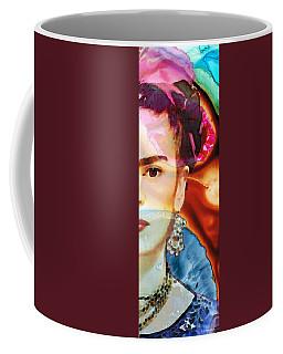 Frida Kahlo Art - Seeing Color Coffee Mug