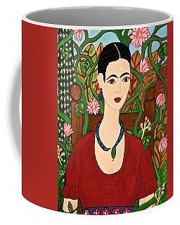 Frida With Vines Coffee Mug