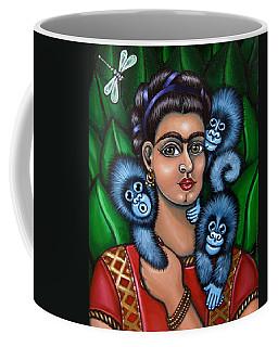Fridas Triplets Coffee Mug