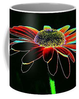 Friday Night Daisy Coffee Mug by Jacqueline McReynolds