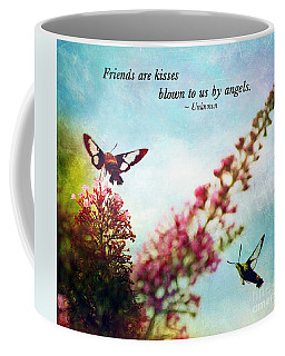 Friends Are .....  Coffee Mug by Kerri Farley