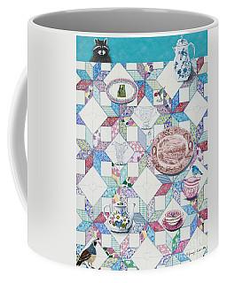 Friends Come To Tea Coffee Mug by Jennifer Lake