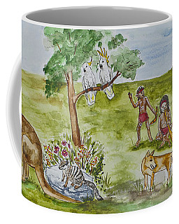 Friends Down Under Coffee Mug