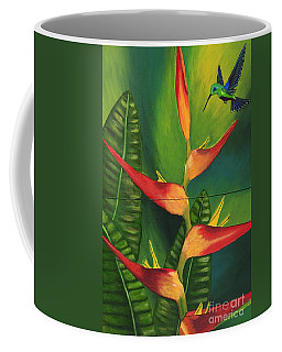 Coffee Mug featuring the painting Friendship by Laura Forde