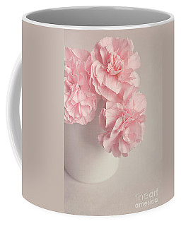 Frilly Pink Carnations Coffee Mug