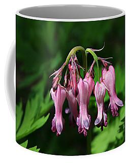 Bleeding Hearts Coffee Mug by William Tanneberger
