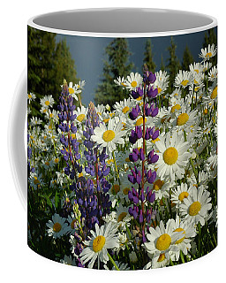 Frisco Flowers Coffee Mug by Lynn Bauer