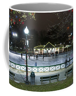 Frog Pond Ice Skating Rink In Boston Commons Coffee Mug