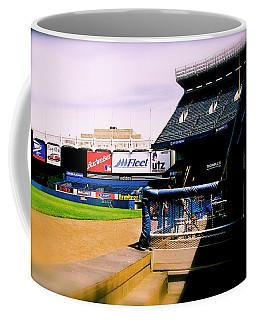 From The Dugout  The Yankee Stadium Coffee Mug