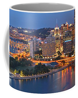 From The Fountain To Ft. Pitt Coffee Mug