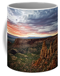 From The Overlook - Colorado National Monument Coffee Mug