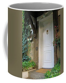 Coffee Mug featuring the photograph Front Door by Arlene Carmel