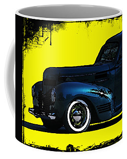 Coffee Mug featuring the photograph Front Half  Of An Old Dodge Classic by Jennifer Muller