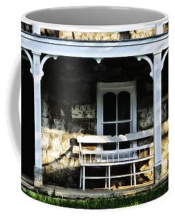 Front Porch Bench Coffee Mug