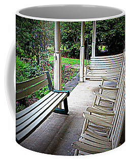 Front Porch Coffee Mug by Beth Vincent