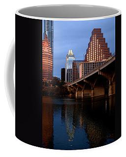 Frost Across The River Coffee Mug