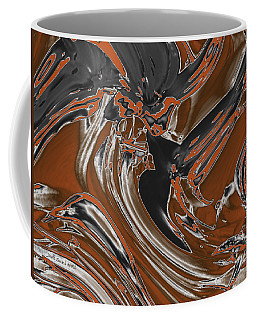 Coffee Mug featuring the digital art Frost And Woodsmoke  by Judi Suni Hall