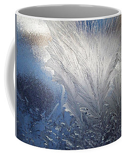 Coffee Mug featuring the photograph Frost Ferns by Joy Nichols